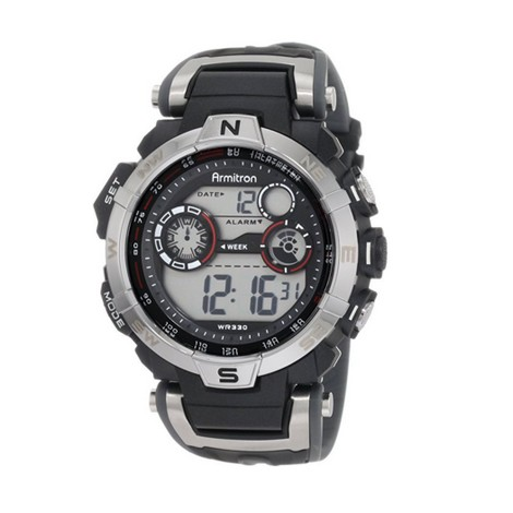 Armitron 408231RDGY, bets Compass Watches