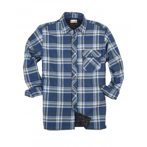 9. Backpacker Flannel Quilt Lined Flannel Shirt