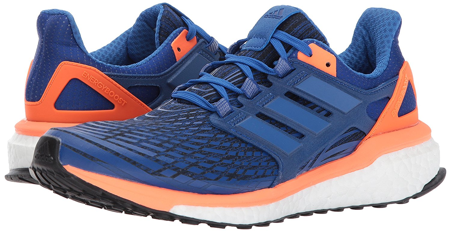 Pair of the Adidas Energy Boost running shoe