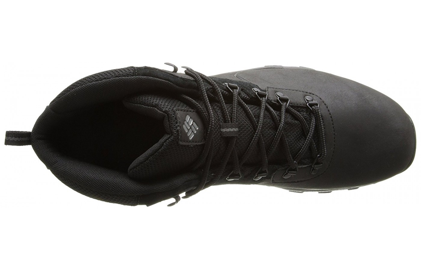 A top view of the Columbia Newton Ridge Plus II hiking boot