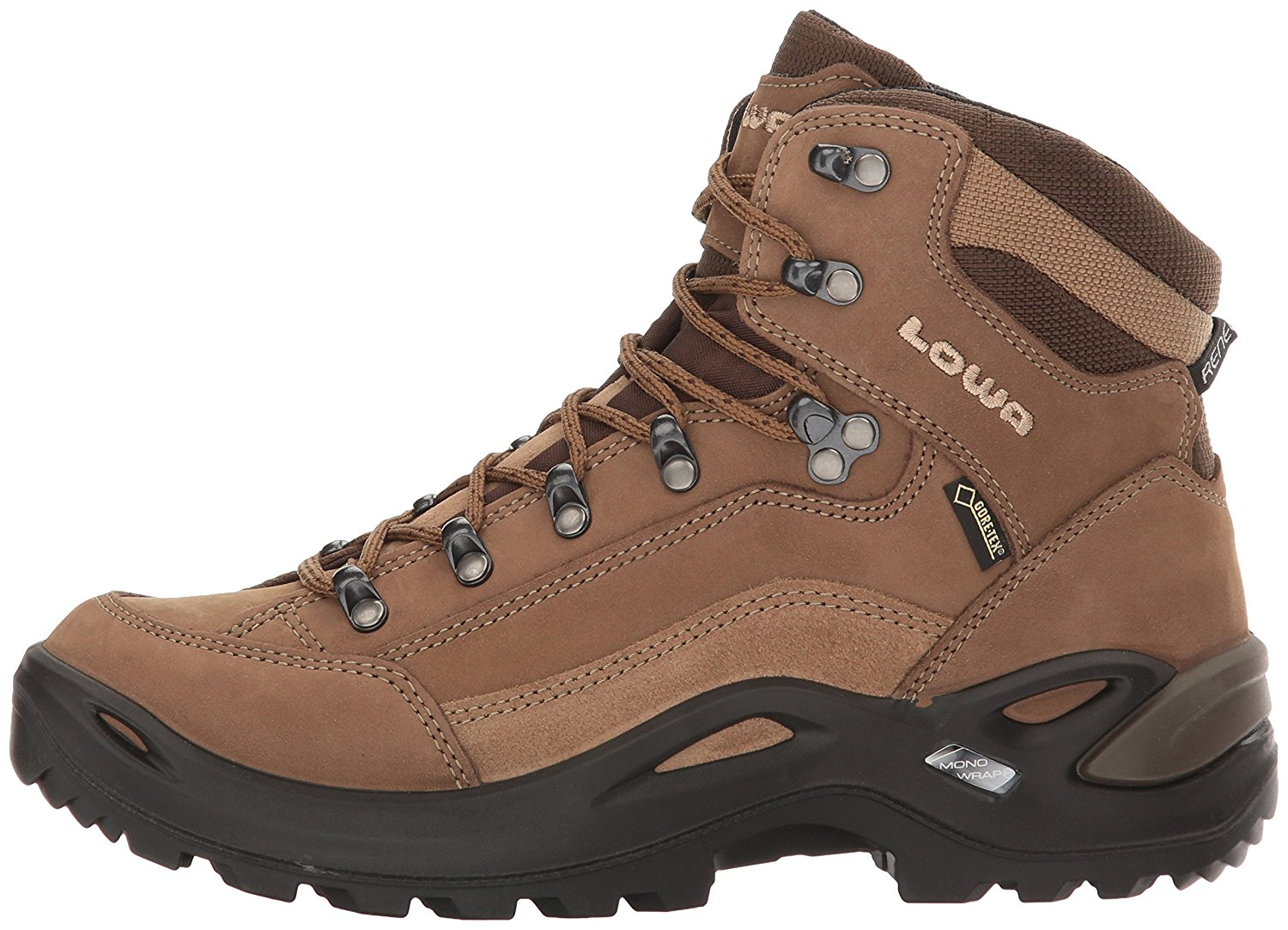 Side view of the Lowa Renegade GTX hiking boot