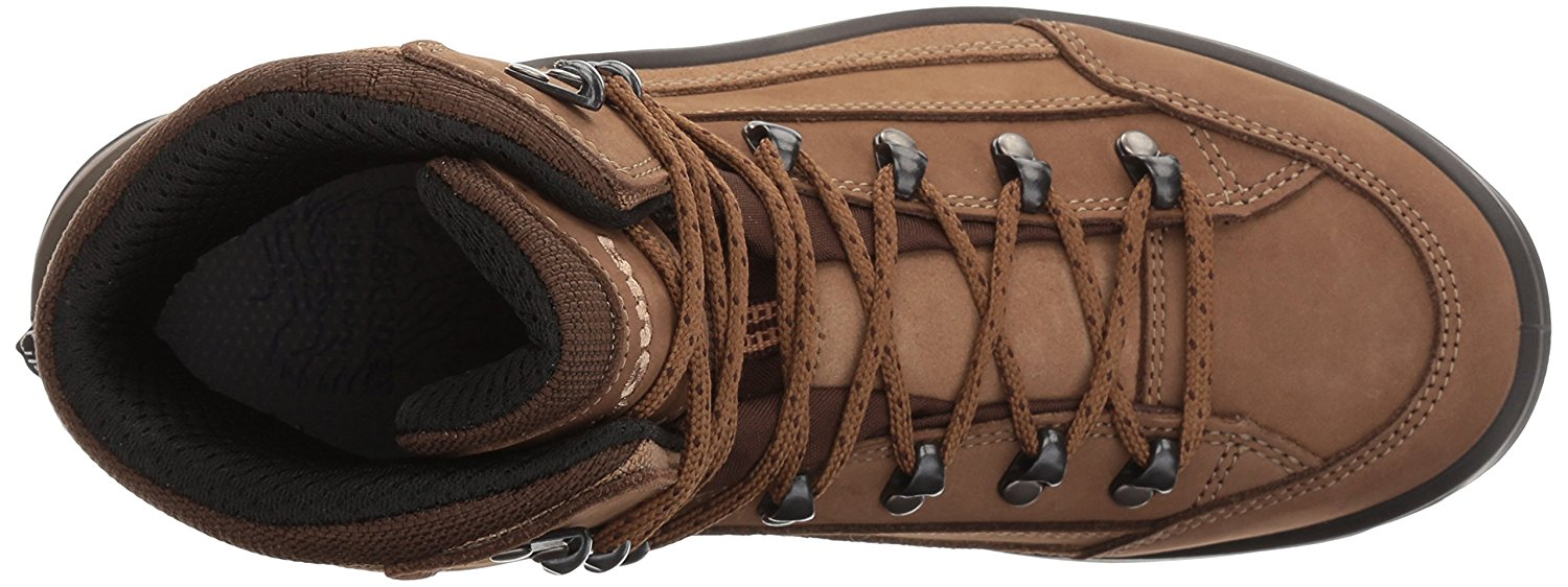 Top view of the Lowa Renegade GTX hiking boot