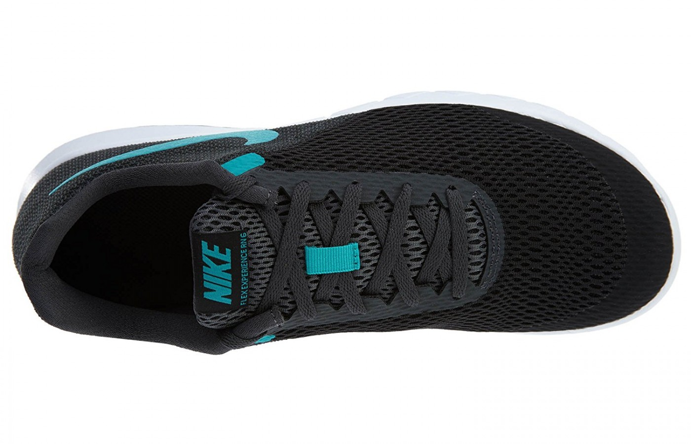 the open mesh throughout the shoe creates great breathability