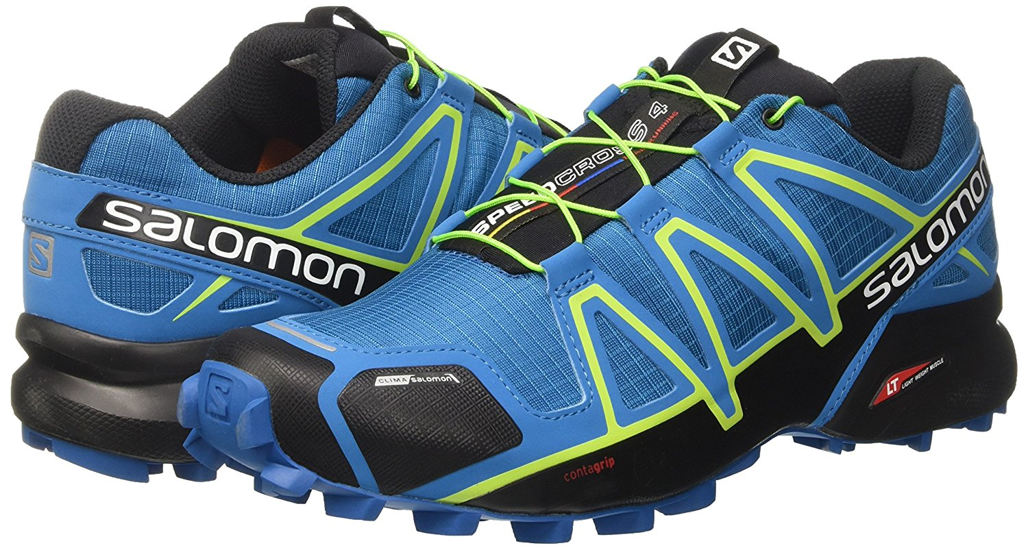 Pair of the Salomon Speedcross 4 trail running shoe