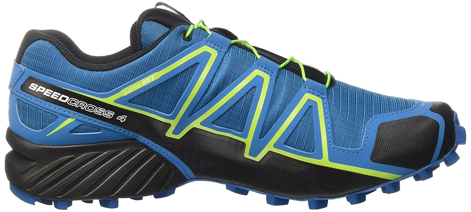 Side view of the Salomon Speedcross 4 trail running shoe
