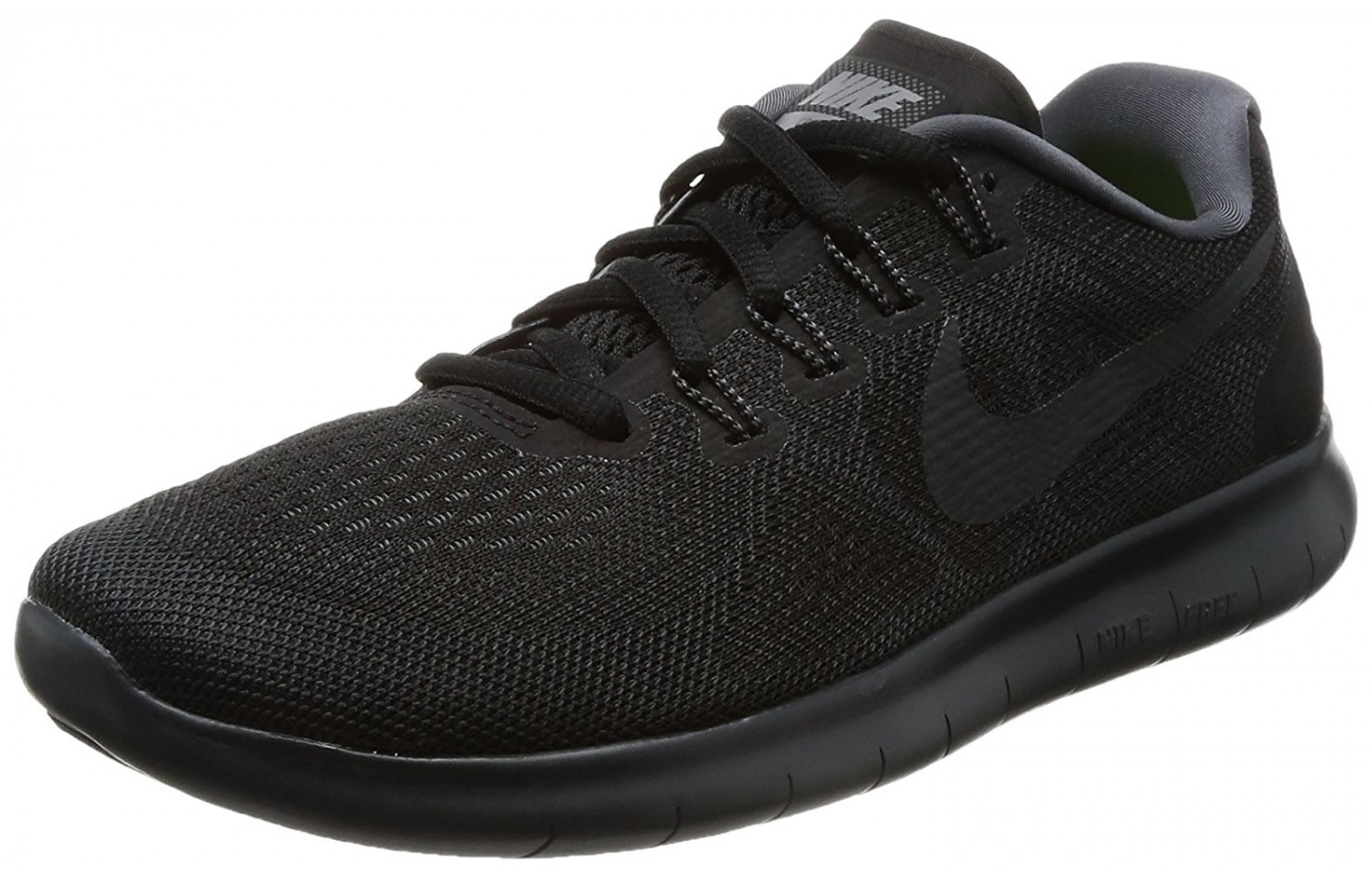 Nike Free Rn 2017 running shoe in black