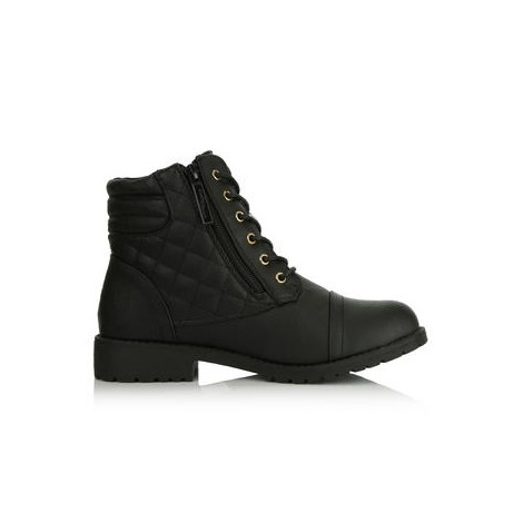 DailyShoes Military Lace Up