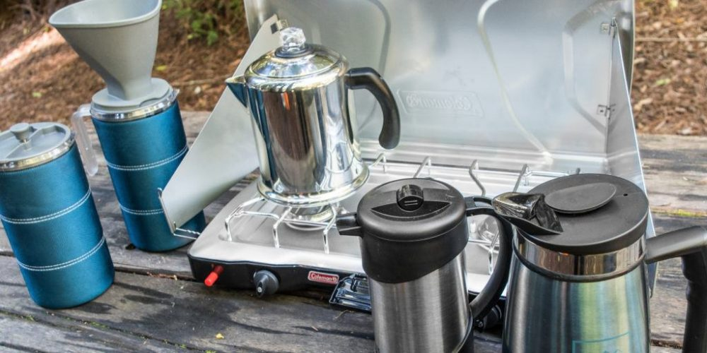 an in-depth review of the best camping coffee makers of 2019