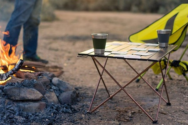 an in-depth review of the best camping tables of 2018
