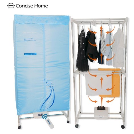7. Concise Home Electric Portable Dryer