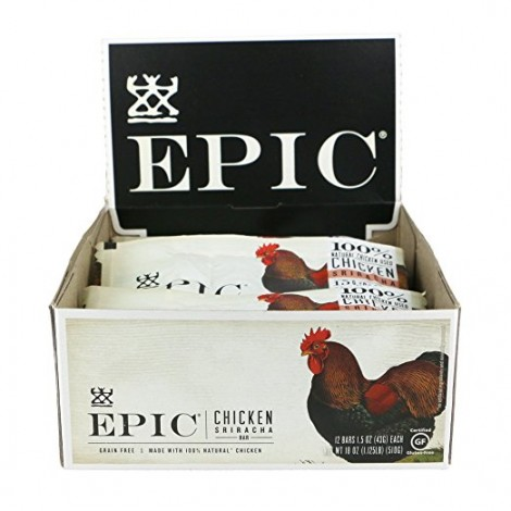 8. Epic All Natural Meat Protein Bars
