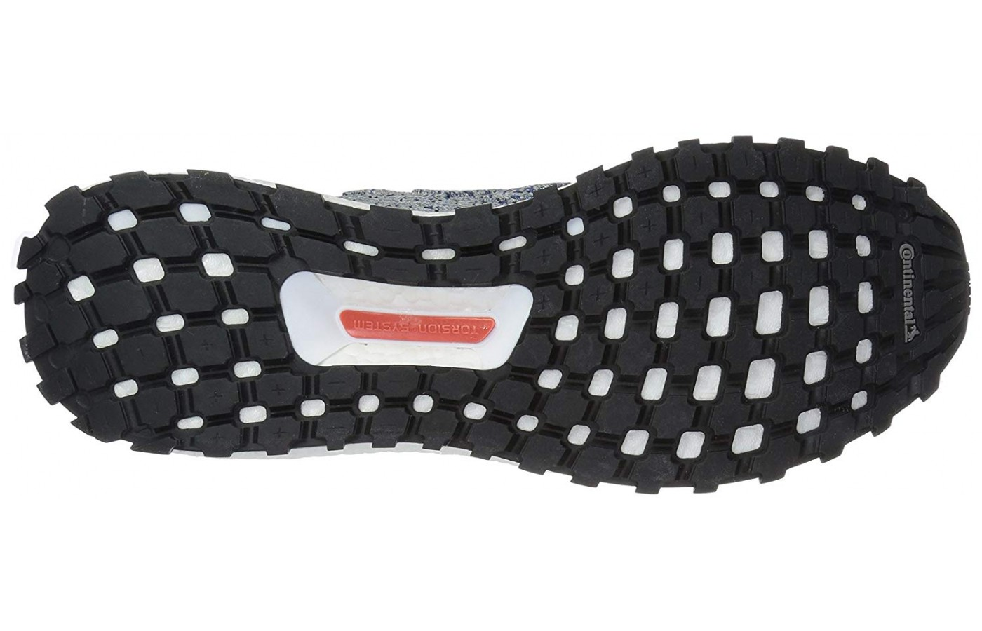 finest selection f17f8 a84fa ... The rugged outsole of the Adidas Ultraboost All Terrains  A view ...