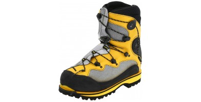 An in-depth review of the La Sportiva Spantik mountaineering boot.