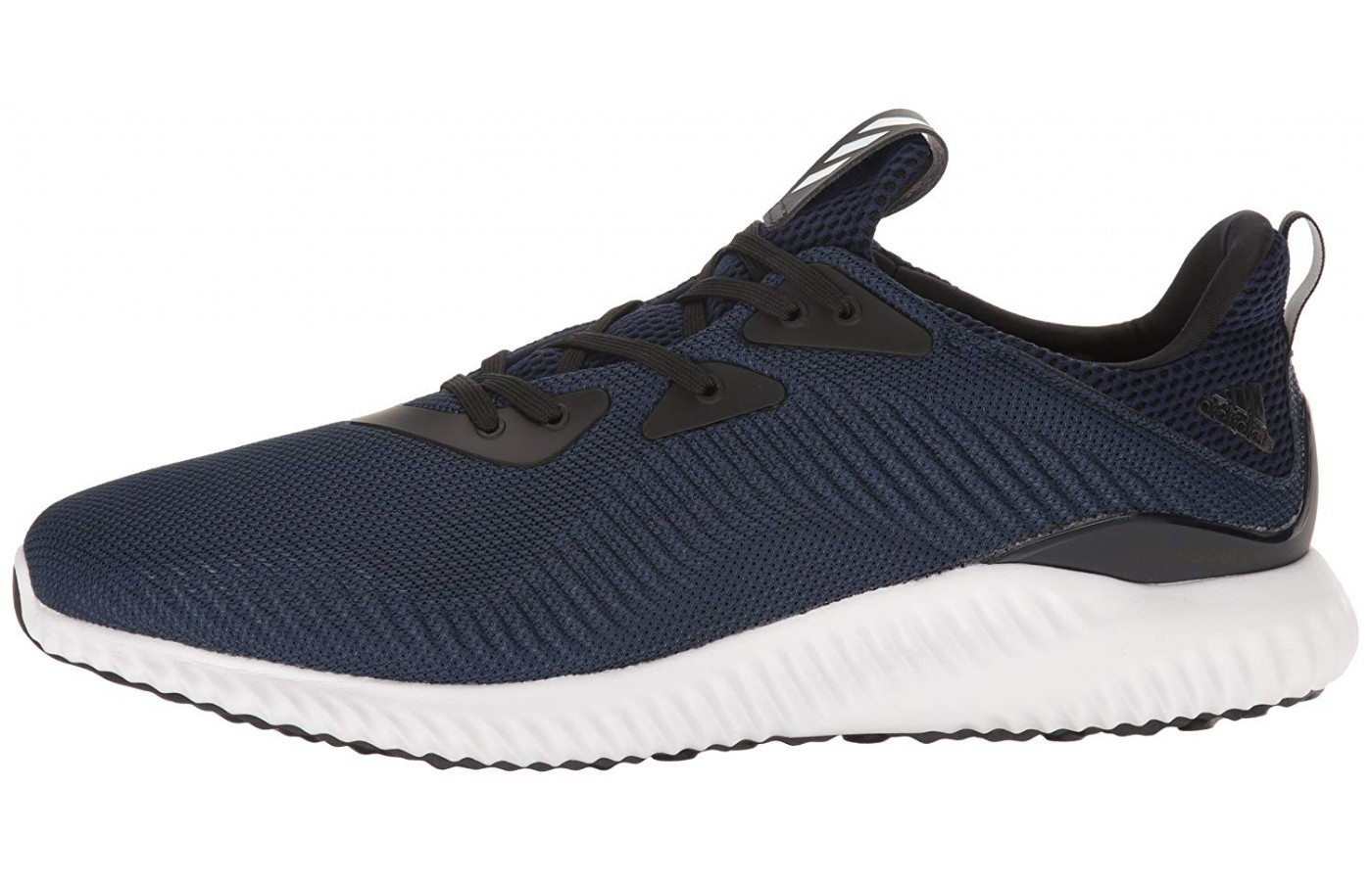 5abcbdadcb5c0 The Adidas Alpha Bounce featured in Navy Blue ...