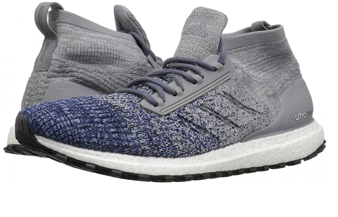 A pair of the Adidas Ultraboost All Terrains
