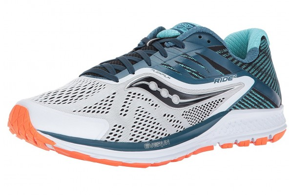 An in-depth review of the Saucony Ride 10.