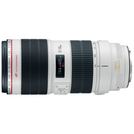 10.  Canon EF 70-200mm f/2.8L IS II USM
