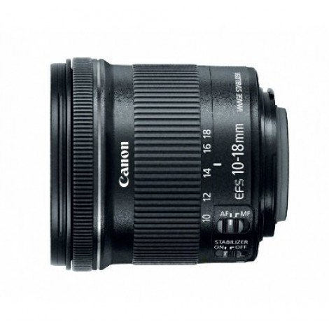 7.  Canon EF-S 10-18mm F/4.5-5.6 IS STM