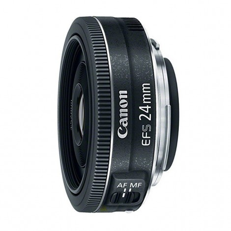 3.  Canon EF-S 24mm F/2.8 STM
