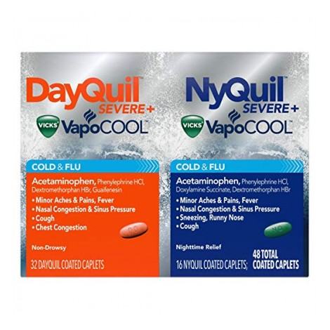 Dayquil and Nyquil Severe