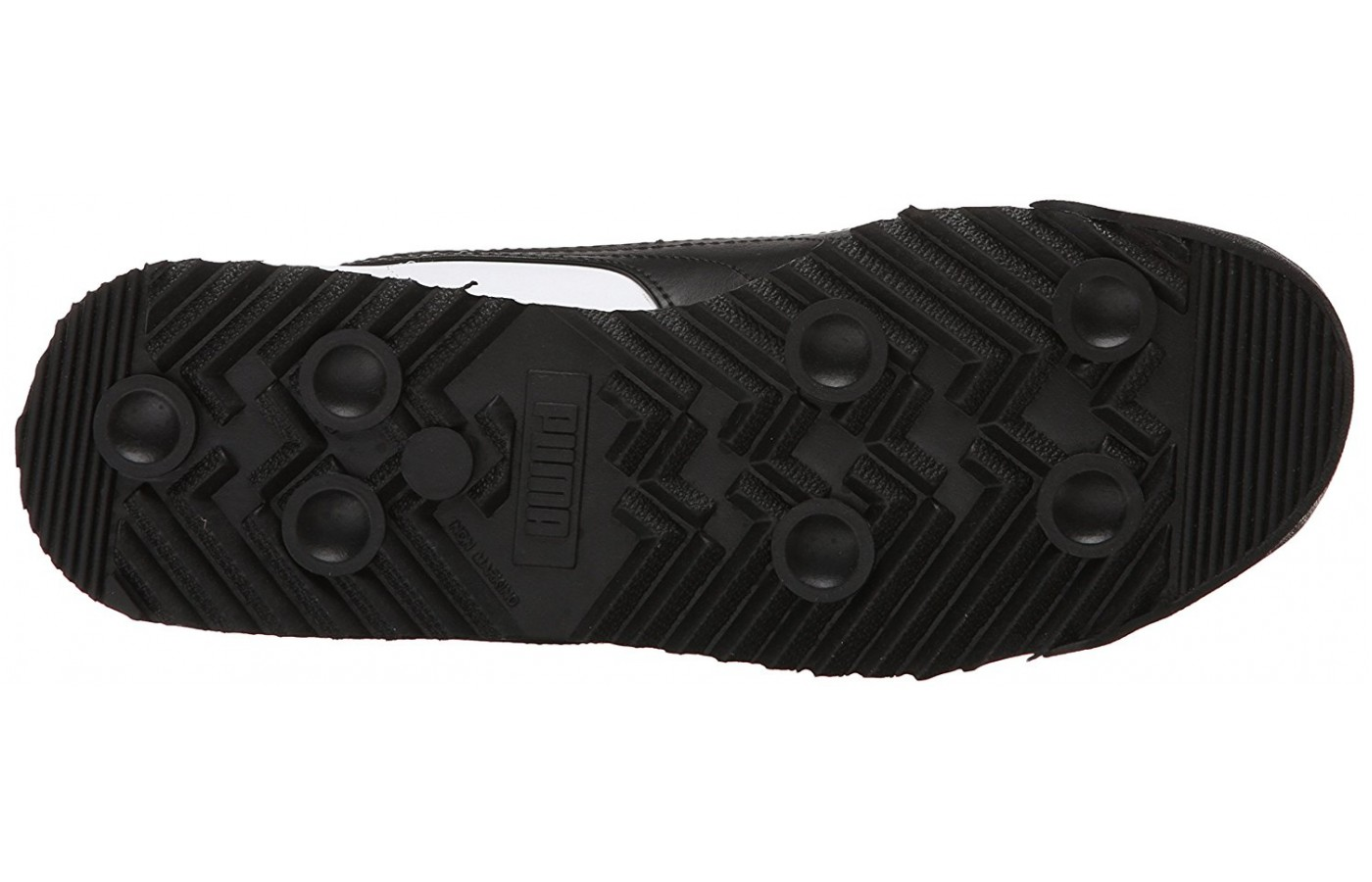 The unique tread of the PUMA Roma is good for long walks.