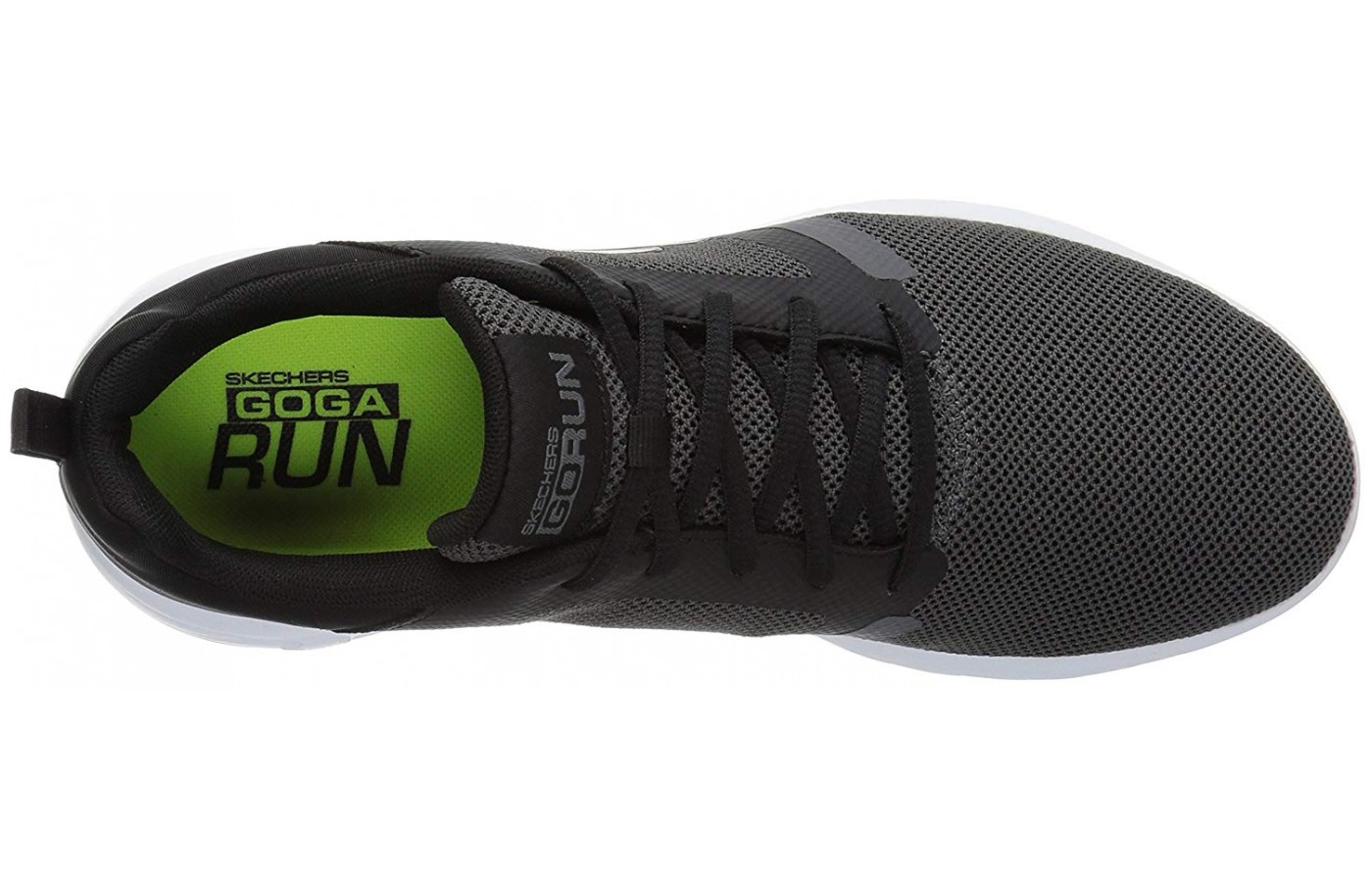 The Go Run 600 has a breathable mesh upper.