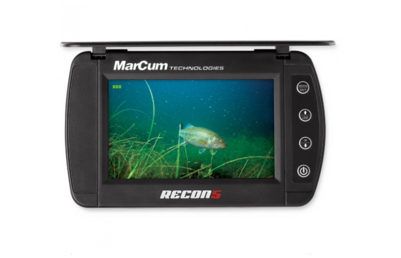 The MarCum Recon 5 is an affordable underwater fish viewing camera.
