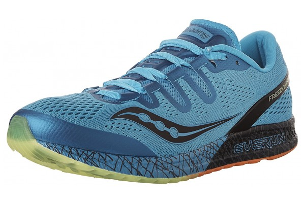 An in-depth review of the Saucony Freedom ISO running shoe.