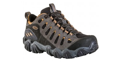 An in-depth review of the Oboz Sawtooth trail shoe.