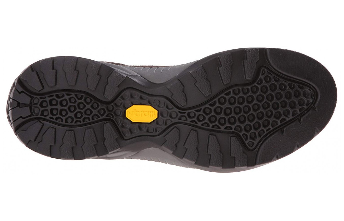 The Vibram Spyder sole is known for its durability and grip.