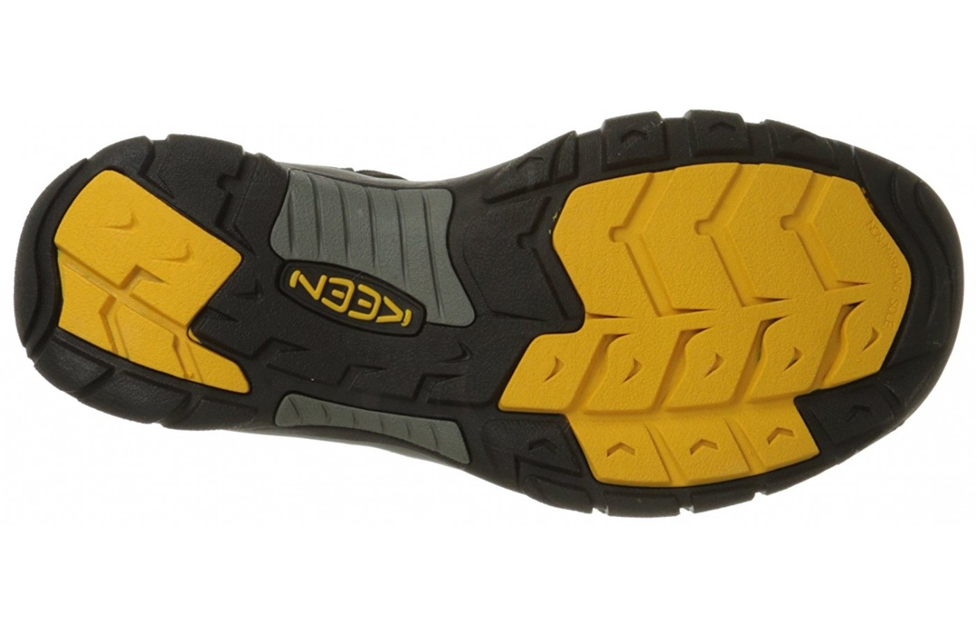The carbon rubber outsole feels and performs like the Vibram outsole.