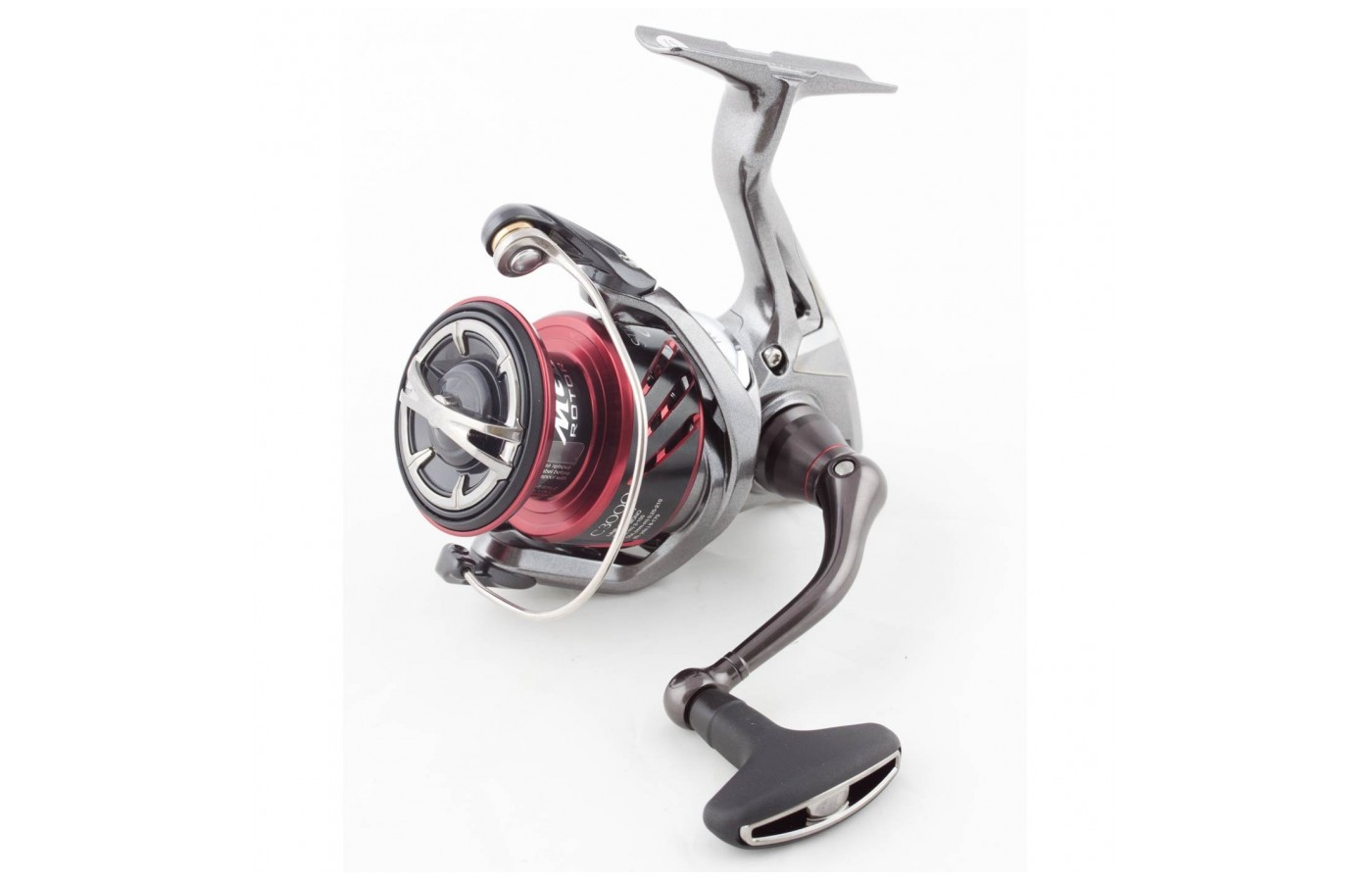 Every part of the Shimano Stradic CI4 is designed for enhanced fishing experience.