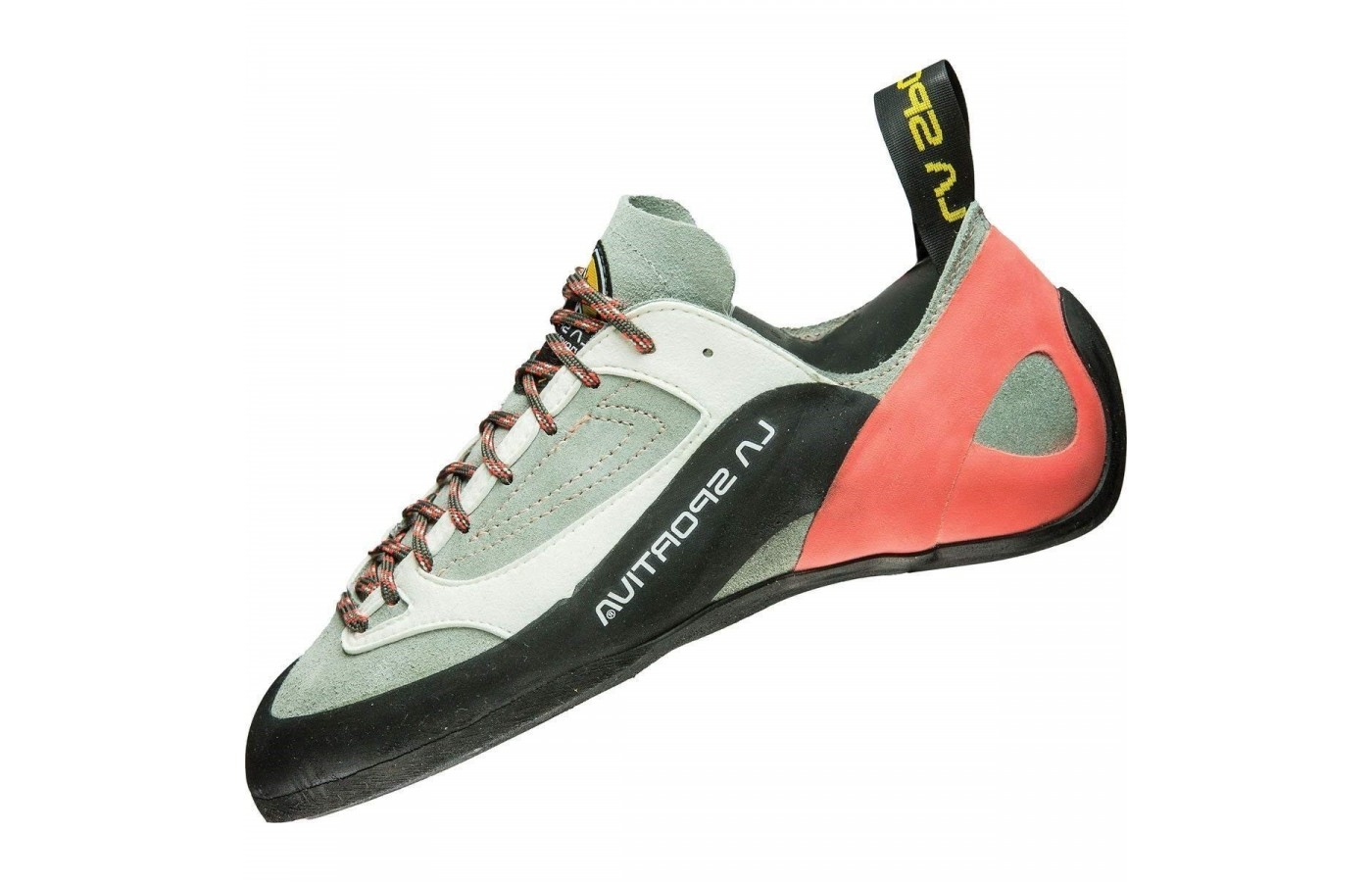 The La Sportiva Finale is an introductory climbing shoe.