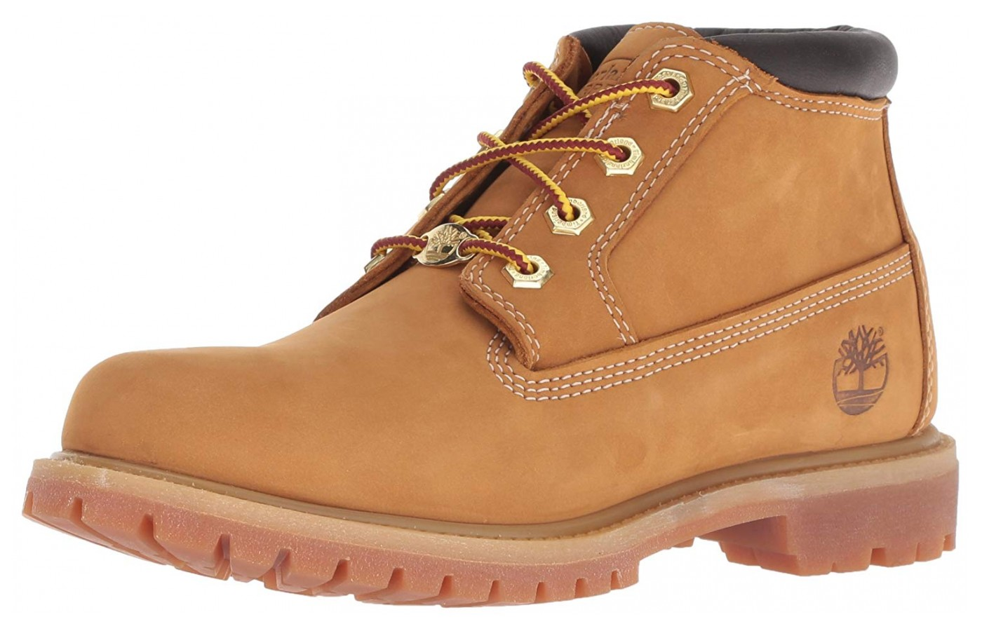 The Timberland Nellie offers a soft style, comfortable fit paired with durable waterproof leather.