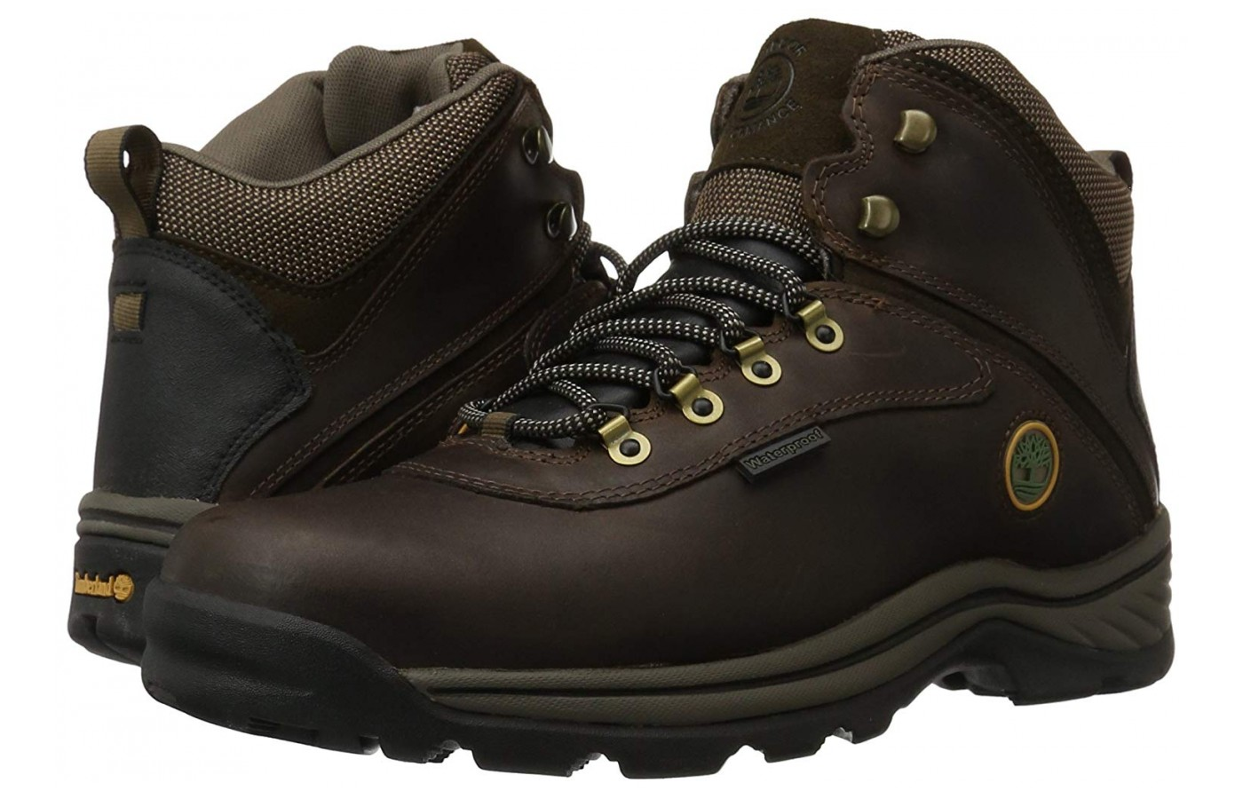 The classic design gives the boot a rugged look without being stiff or bulky