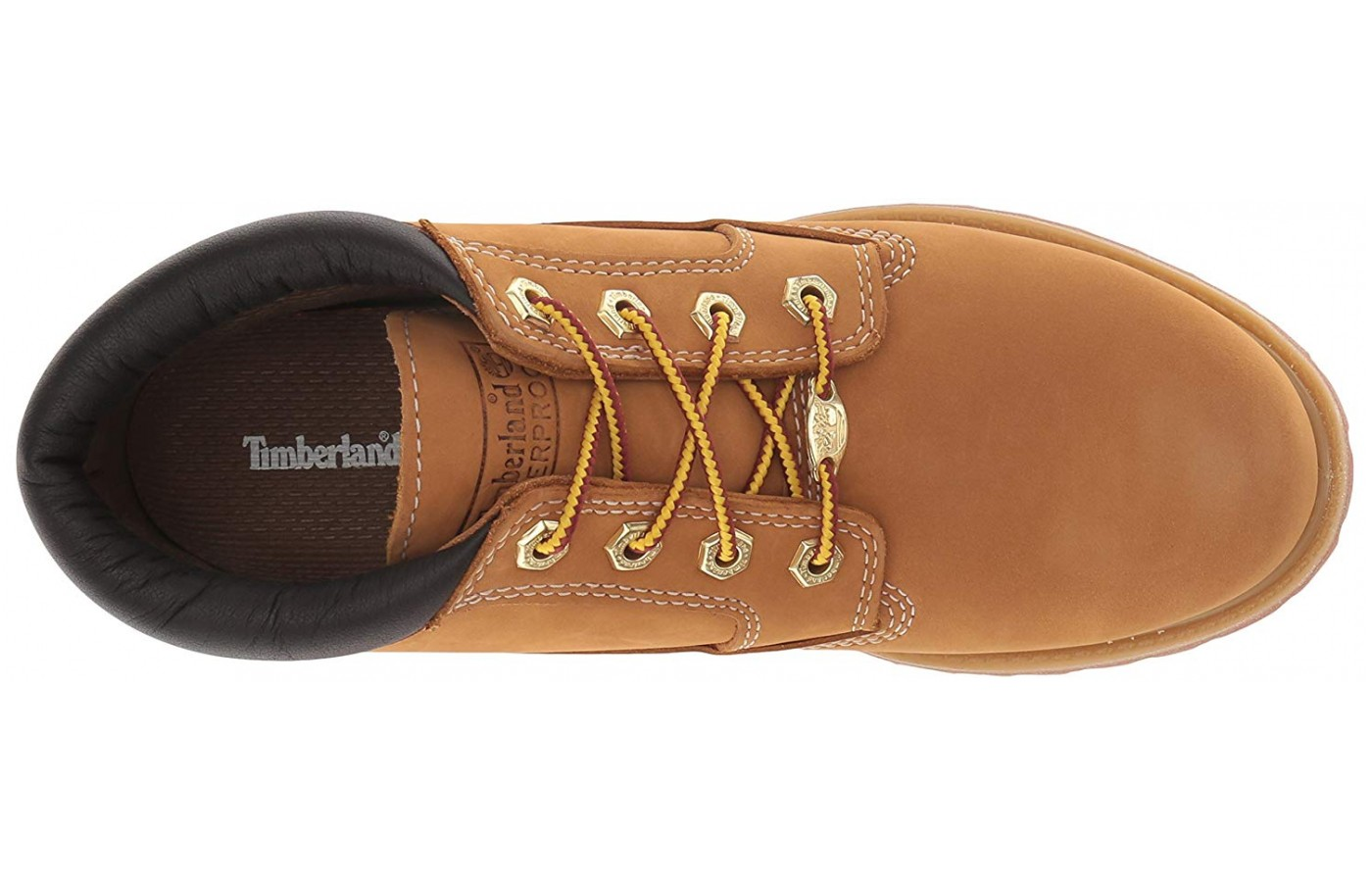 The upper is made from full-grain leather, premium quality proven to be waterproof yet breathable.