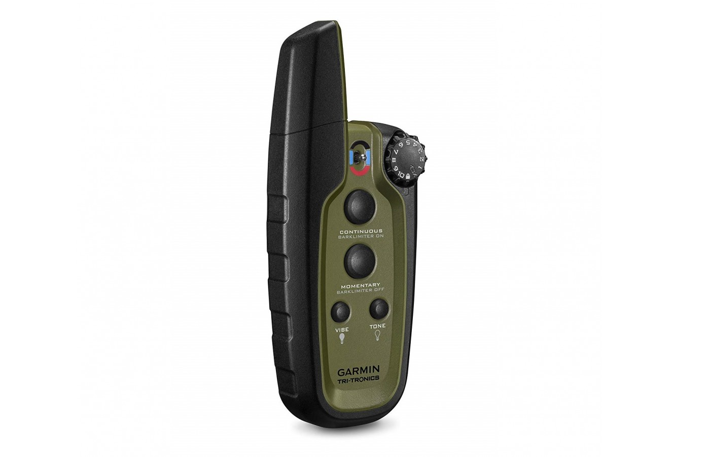 The Garmin Sport Pro offers a four button remote control that offers multi-dog training capabilities.
