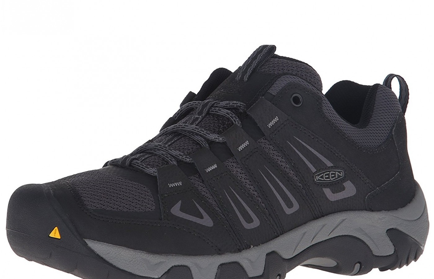 The Keen Oakridge offers leather and mesh uppers for breathability.