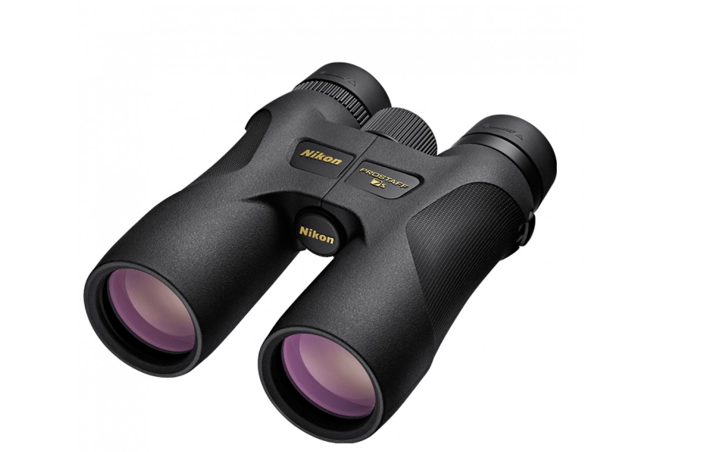 The Nikon ProStaff 7S offers turn and slide rubber eye cups for customization.
