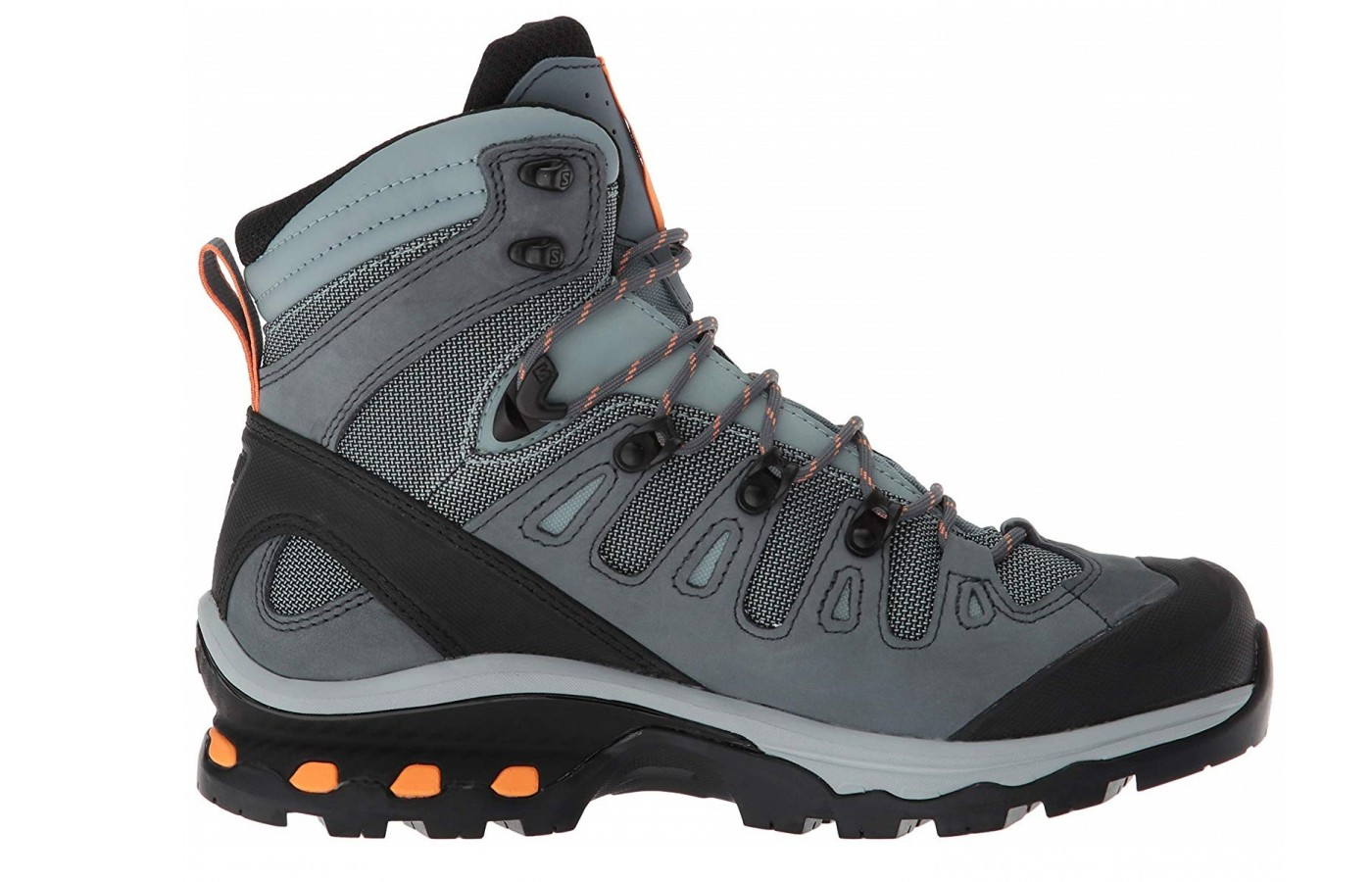 The Salomon Quest 4D 3 has a 4D Advanced Chassis for better forefoot flexion.