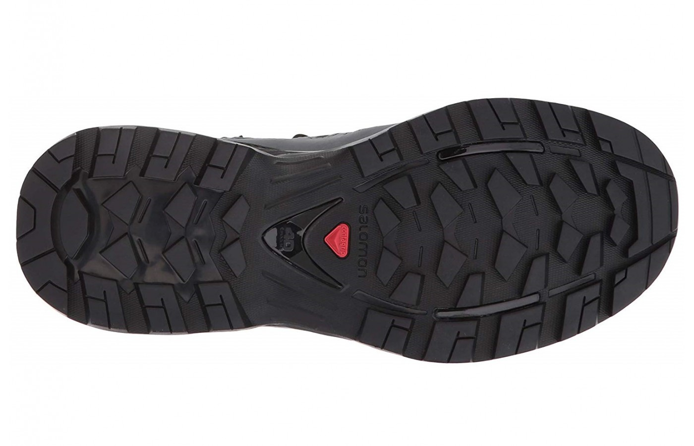 The Salomon Quest 4D 3 GTX also offers 3 GTX with a new lug design for better grip.