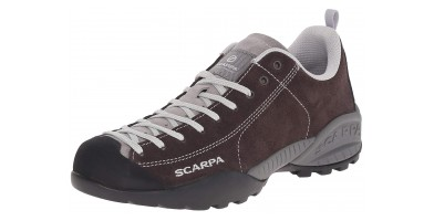 An in-depth review of the Scarpa Mojito approach shoe.