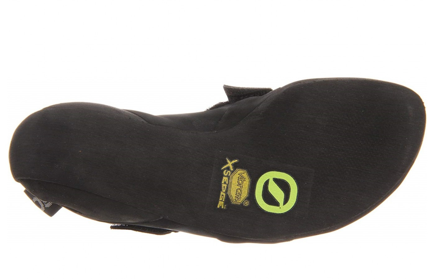 The outsole of the Scarpa Boostic is made of a 3.5 mm Vibram XS Edge material for optimum grip.