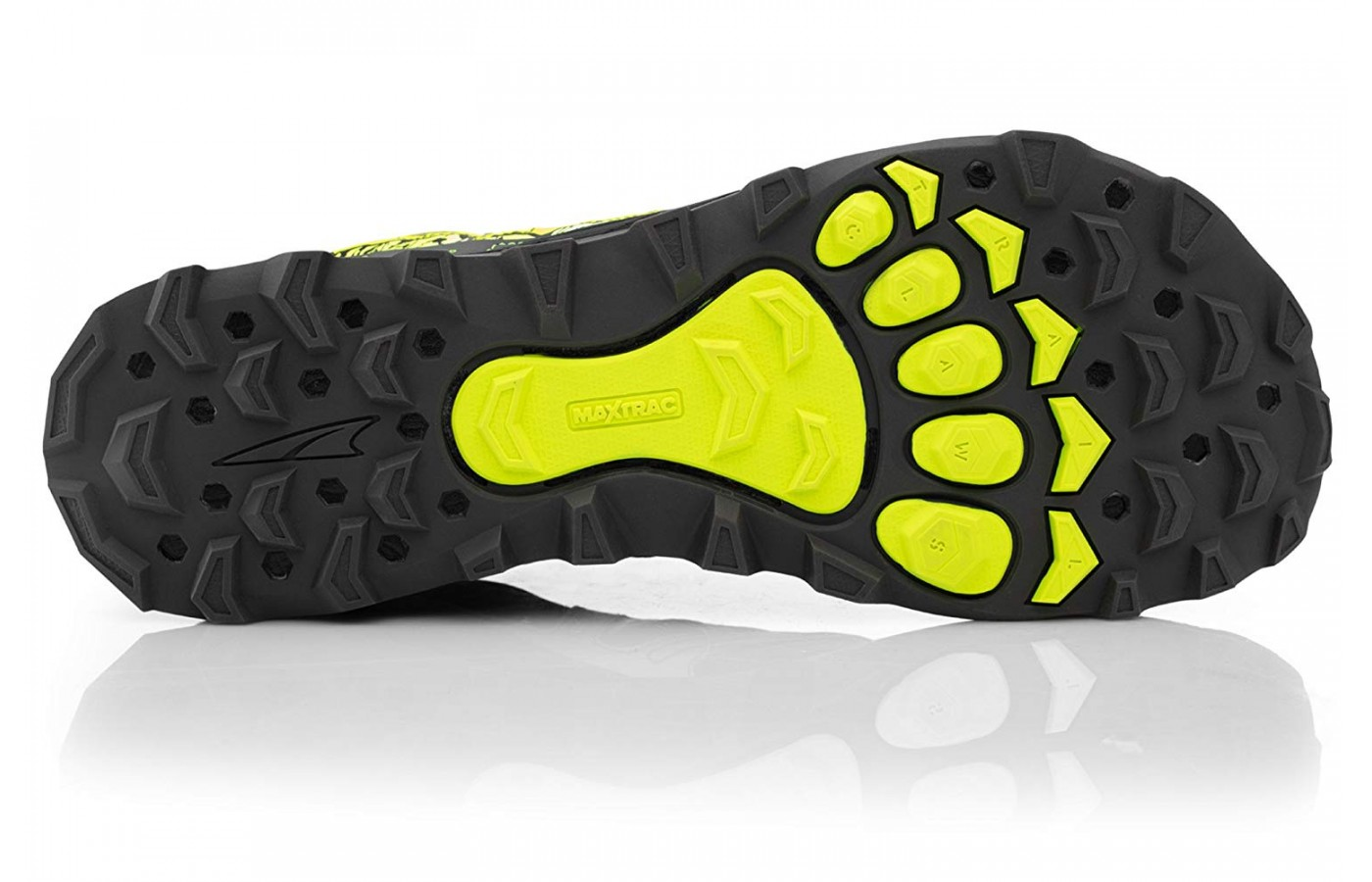 The Trailclaw has multidirectional lugs for a more versatile grip.
