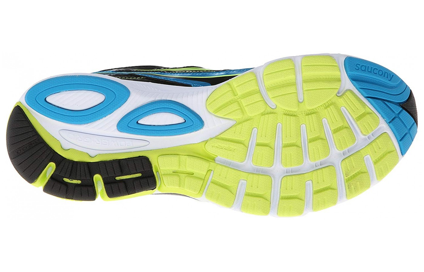 The Ride 7 utilizes a special outsole rubber that makes it a great long-distance shoe.