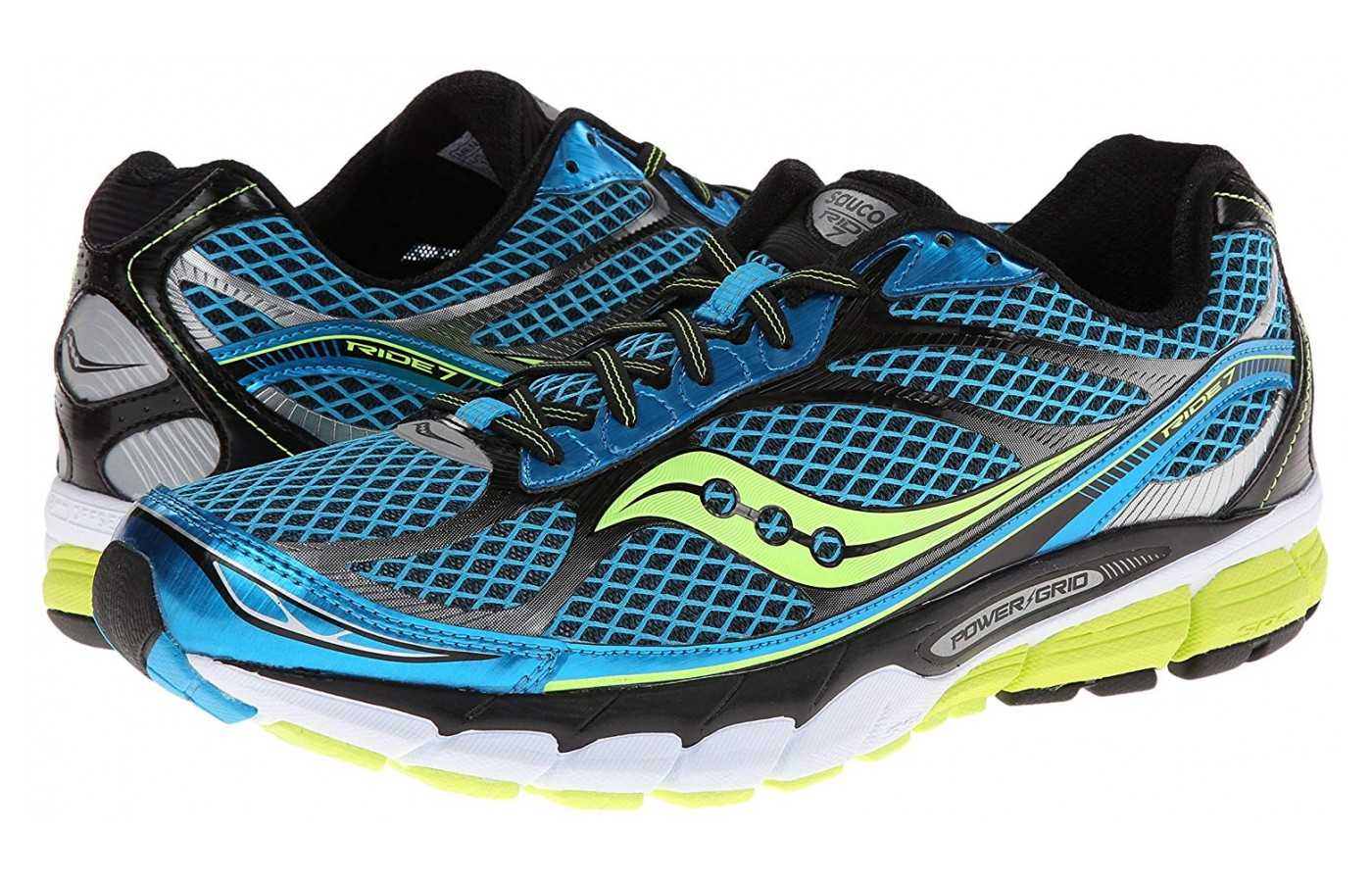 The Saucony Ride 7 is a fantastic running shoe option for heel strikers.