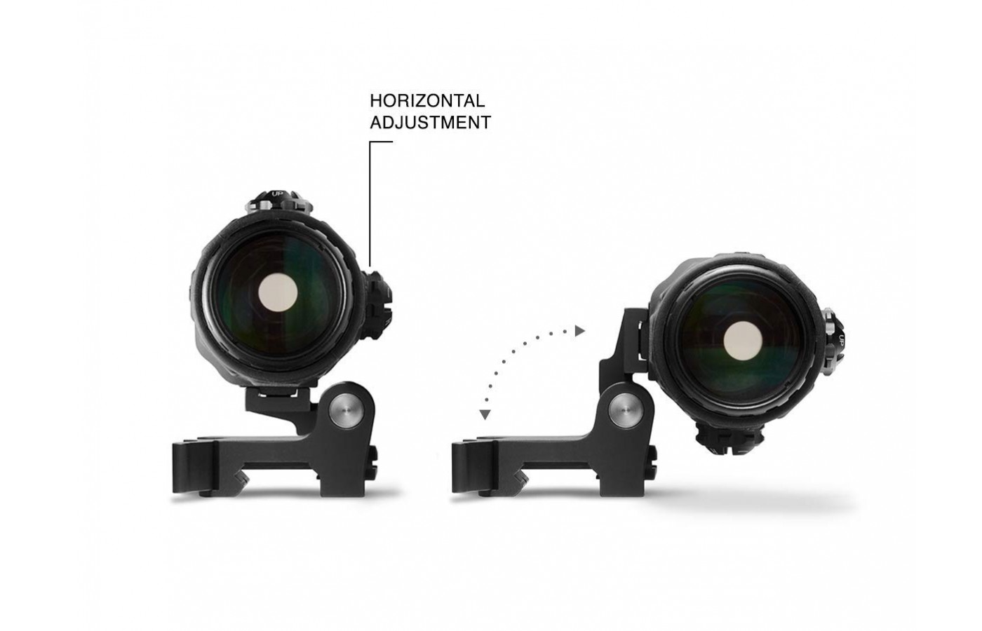 EOTech G33 has the switch to side mount feature