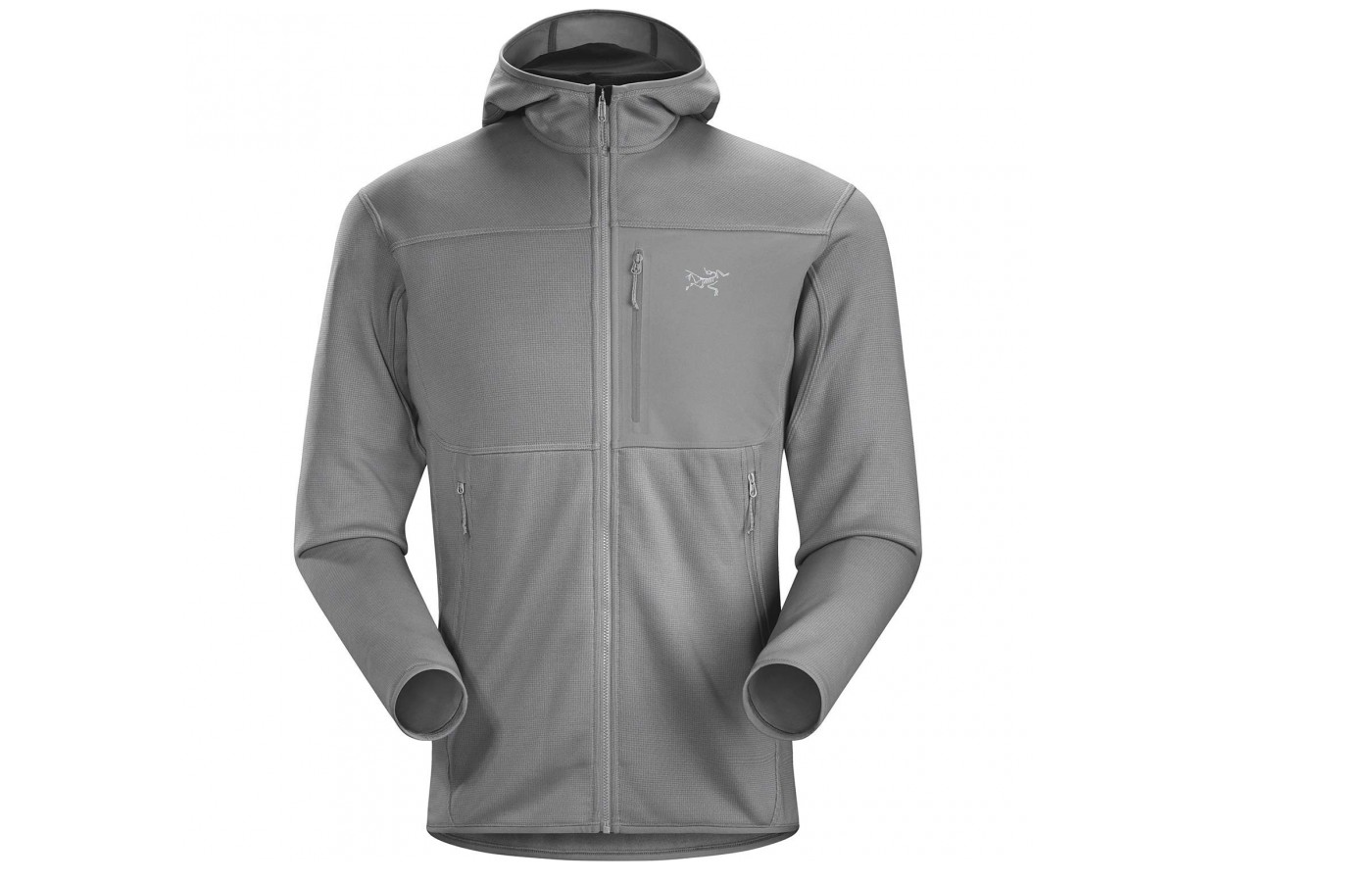 Made with Polartec Power Stretch fleece using a  Hardface Technology the Fortrez Hoody is durable to withstand the elements and against wear