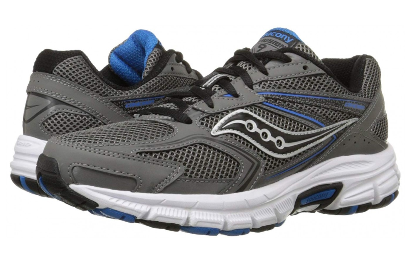 From Saucony's series of budget-friendly shoes, the Cohesion 9 has many features expected from low-price shoes as well as some that surpass expectations.