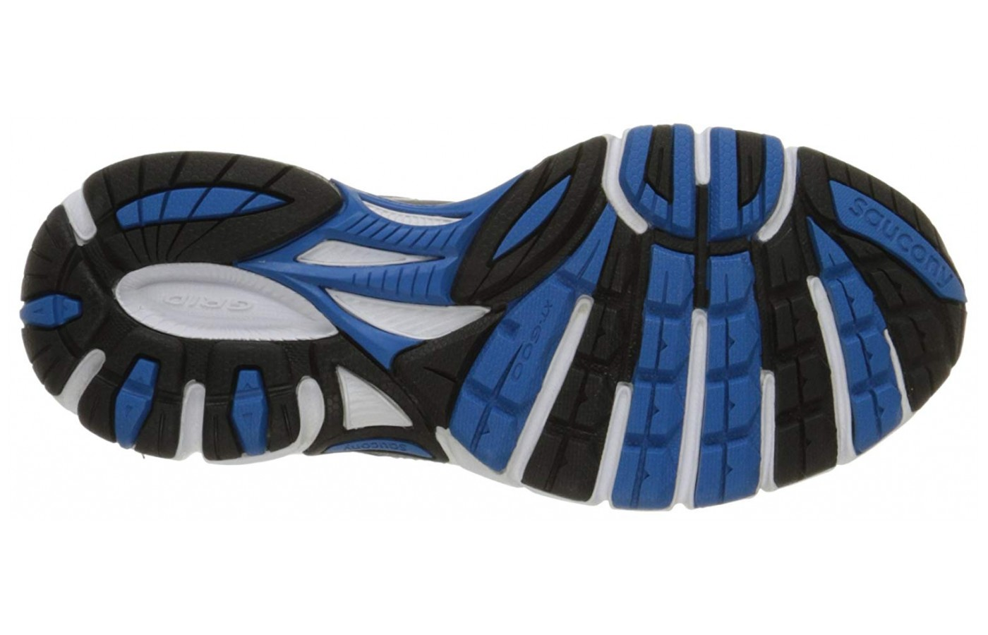 The outsole meant to handle hilly terrain also features aesthetic cascading colors that are very appealing.